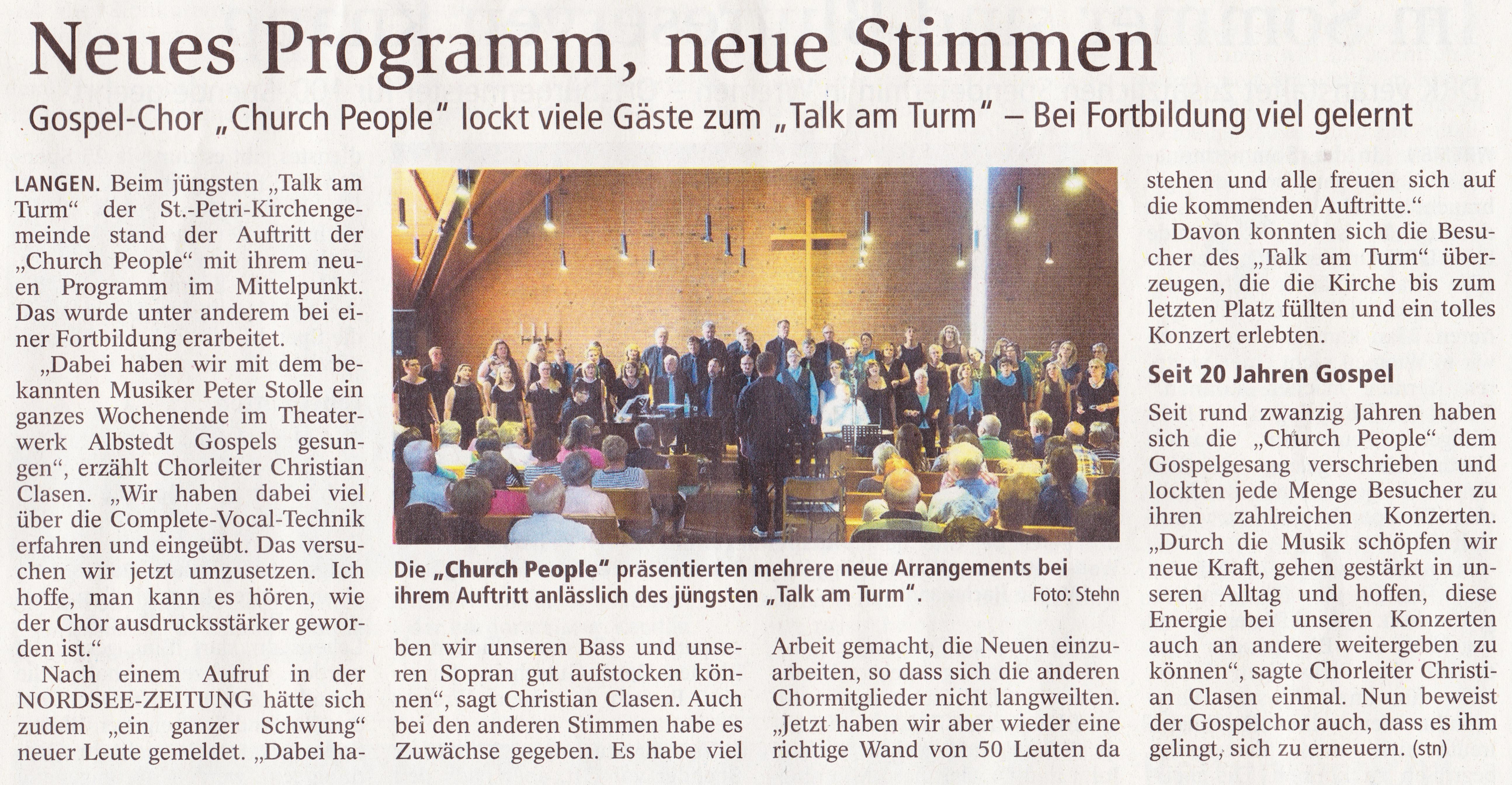 Konzert Talk am Turm 2018